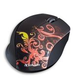 Verbatim Wireless Notebook Optical Mouse, Design Series - Orange,Minimum Qty. 4 - 97782