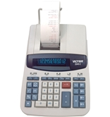 12 Digit Heavy Duty Commercial Calculator with Left Side Total and Equals Plus Logic