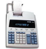 Victor Model 1230-3 12-Digit Print Display Calculator