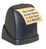 Victor Post it note, Zip Note Dispenser