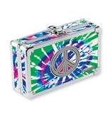 Pencil Box Tie-Dye w/Peace Sign - Tie Dye - Vaultz - VZ00082