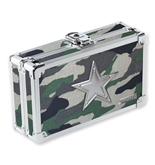 Pencil Box Jungle Camo w/ Silver Star - Jungle Camo - Vaultz - VZ00142