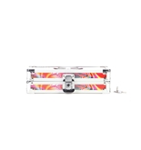 Pencil Box Groovy w/Peace Sign - Peace Sign - Vaultz - VZ00273