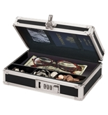 Locking Mini Cash Box - Black - VZ00304