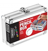 Pencil Box White Graffiti - White Graffiti Pencil Box - Vaultz - VZ00350