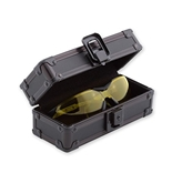 "Vaultz ""BLACK OPS"" Locking Sunglass Case"