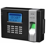 David-Link W-988P Biometric and Proximity Time and Attendance System with Back-up Battery - Blue Backlight