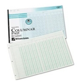 Wilson Jones Accounting Pad/13 8-Unit Columns, 11 x 16.37 Inches, 50-Sheet Pad (G7213A)