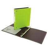 Wilson Jones Resource Foam Polypropylene Ring Binder, Durable Hinge, 1 Inch Capacity, Letter Size, Green (W38204)