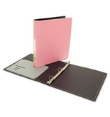 Wilson Jones Resource Foam Polypropylene Ring Binder, Durable Hinge, 1 Inch Capacity, Letter Size, Pink (W38206)