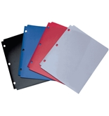 Wilson Jones Snapper Folder, Letter Size, Two Pockets, Classic Color Assortment (A7040023)