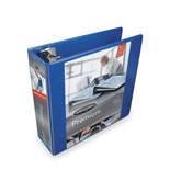 Wilson Jones W866-49-295PP Ultra Duty 3- D-Ring View Binder, Navy