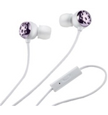 Womens Earphone w Mic Rose [Electronics]