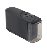 X-Acto 16701 Helical Battery Operated Pencil Sharpener, Black, 1 Unit