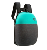 Shell Backpack, Black & Greenish