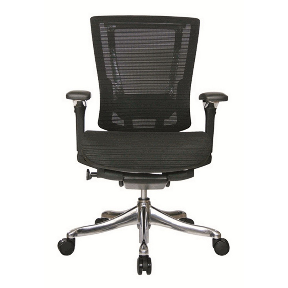 Nefil 4300MEBLK3D Office Chair In 3D Black Mesh And