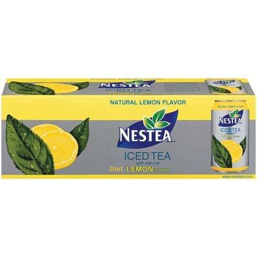 Nestea Lemon Iced Tea 12 , 12 Cans, Pack of 2