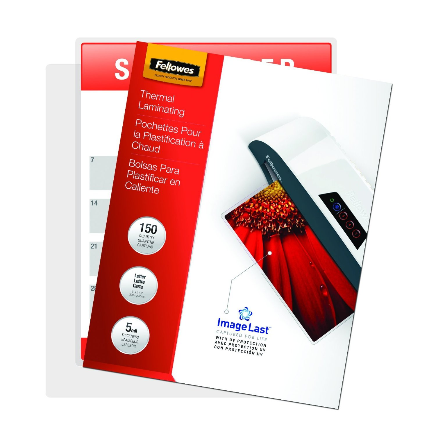 fellowes laminating pouches thermal imagelast letter With fellowes letter size laminating pouches 5 mil 150 pack