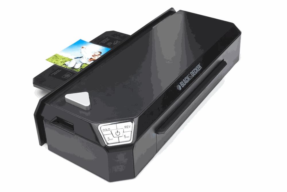 """LAM125FH New Black /& Decker Flash Pro XL Fast Heat 12.5/"""" Laminator"""
