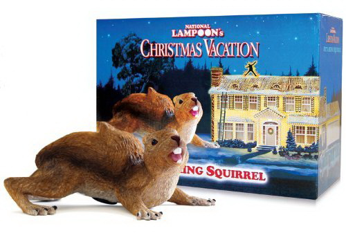 Christmas Vacation Squirrel.Christmas Vacation Attacking Squirrel W Motion Sensor And Sound