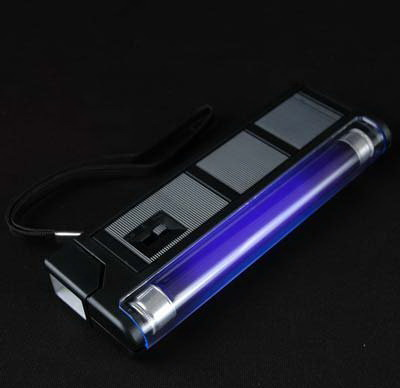 Novelty Lights: Novelty Lights, Inc. BLKF-6 Handheld Blacklight with Flash Light - Acedepot