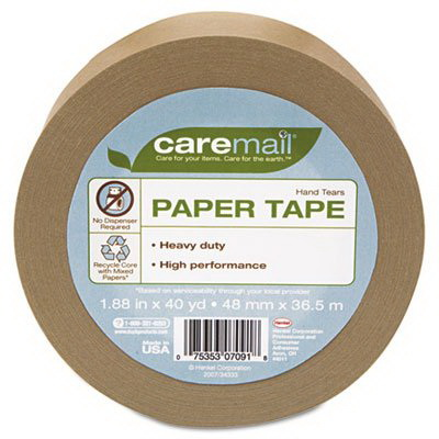 paper packaging tape heavyduty in x 40 yards. Black Bedroom Furniture Sets. Home Design Ideas