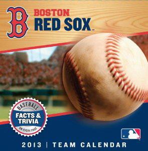 Perfect Timing Turner 2013 Boston Red Sox Box Calendar