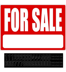 Garvey Sign 098067 For Sale Kit with Phone