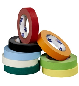 "1/4"" x 60 yds. White (12 Pack) Tape Logic™ Masking Tape (12 Per Case)"