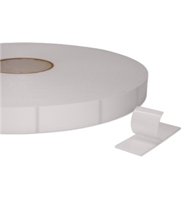 "1"" x 3"" Tape Logic™- 1/16"" Double Sided Foam Strips (324 Per Roll)"