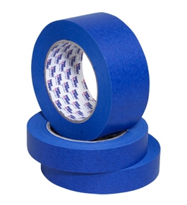"1"" x 60 yds. (12 Pack) Tape Logic™ - #3000 Blue Painter's Tape (12 Per Case)"