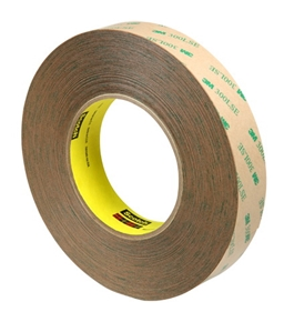 "1"" x 60 yds. (3 Pack) 3M - 9472LE Adhesive Transfer Tape (3 Per Case)"