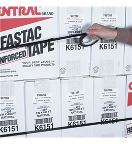"1"" x 60 yds. Tensilized Polypropylene Strapping Tape (72 Per Case)"
