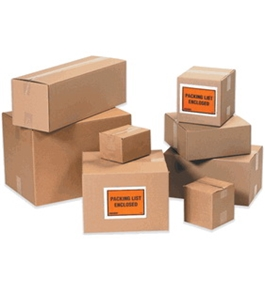 "10"" x 10"" x 10"" Corrugated Boxes (Bundle of 25)"