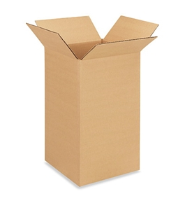 "10"" x 10"" x 18"" Corrugated Boxes (Bundle of 25)"