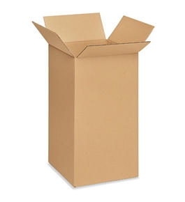 "10"" x 10"" x 20"" Corrugated Boxes (Bundle of 25)"