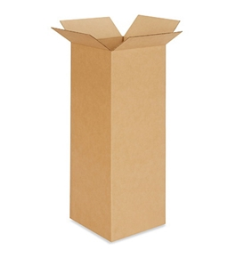 "10"" x 10"" x 30"" Tall Corrugated Boxes (Bundle of 25)"