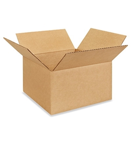 "10"" x 10"" x 6"" Corrugated Boxes (Bundle of 25)"