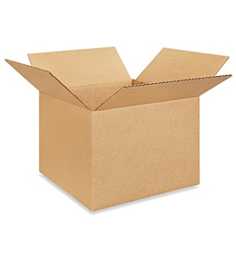 "10"" x 10"" x 8"" Corrugated Boxes (Bundle of 25)"