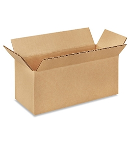 "10"" x 4"" x 4"" Long Corrugated Boxes (Bundle of 25)"
