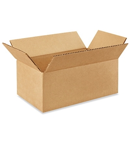 "10"" x 6"" x 4"" Corrugated Boxes (Bundle of 25)"