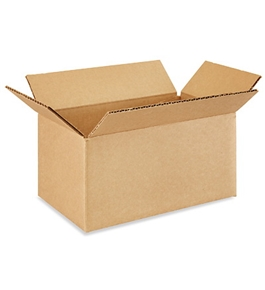 "10"" x 6"" x 5"" Corrugated Boxes (Bundle of 25)"