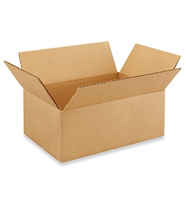 "10"" x 7"" x 4"" Corrugated Boxes (Bundle of 25)"
