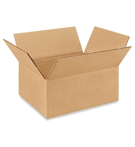 "10"" x 8"" x 4"" Corrugated Boxes (Bundle of 25)"