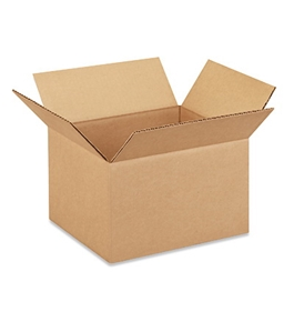 "10"" x 8"" x 6"" Corrugated Boxes (Bundle of 25)"