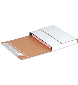 "11 1/8"" x 8 5/8"" x 2"" Deluxe Easy-Fold Mailers (25 Each Per Bundle)"
