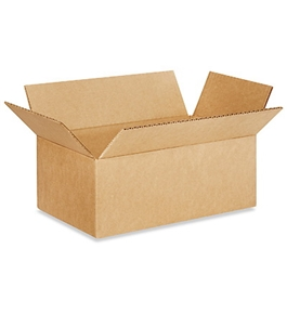 "11"" x 6"" x 4"" Long Corrugated Boxes (Bundle of 25)"