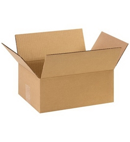 "11 3/4"" x 8 3/4"" x 4 3/4"" Corrugated Boxes (Bundle of 25)"
