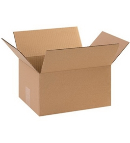 "11 1/4"" x 8 3/4"" x 6"" Corrugated Boxes (Bundle of 25)"