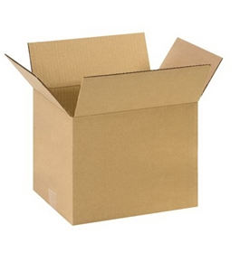 "11 1/4"" x 8 3/4"" x 8"" Corrugated Boxes (Bundle of 25)"
